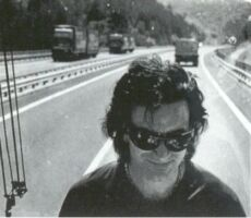 Bono on a highway